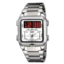 Analogo/LED hodinky Weide B stříbrné (WID 06)