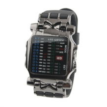 LED hodinky Cyber