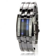 Pánské LED hodinky Military černé